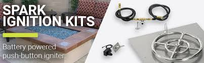 Diy Glass Fire Pit by Get Spark Ignition Kits For Diy Fire Pits American Fire Glass