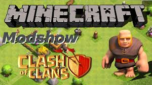 minecraft clash of clans mod youtube