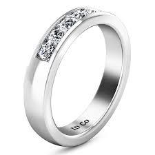 hudson wedding band diamond wedding band hudson 0 35 cts 14k white gold imagine diamonds