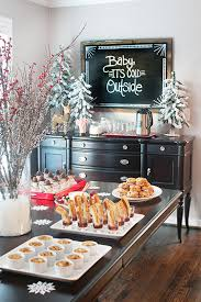 how to decorate a buffet table 10 christmas buffet table decorating ideas
