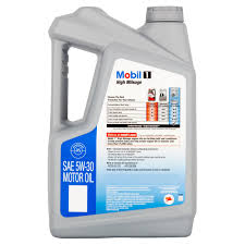 mobil 1 5w 30 high mileage full synthetic motor oil 5 qt