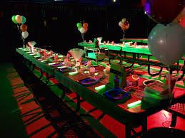 glow party nw houston air kids glow birthday party packages air