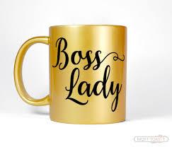 gold boss gift women u0027s gift for boss mug boss lady mug