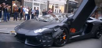 lamborghini car black matte black lamborghini aventador crashed in london autoevolution