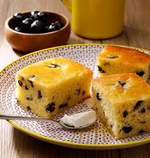 recette de cuisine gateau gâteau de semoule sucré aux olives noires les meilleures recettes