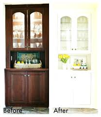 built in china cabinet designs extraordinary built in china cabinet in dining room images best