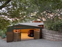 contemporary garage design modern detached garage design flat roof