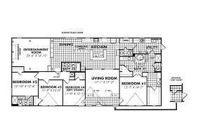 4 Bedroom 2 Bath Mobile Homes Legacy Housing Double Wides Floor Plans