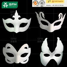 unpainted masks 2015 amazing scrazy paper animal masks for unpainted buy