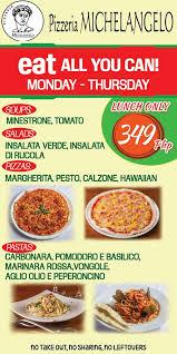 promo cuisine uip pizzeria michelangelo philippines home banilad cebu city