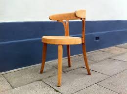 Schreibtischstuhl Gebogener Dänischer Vintage Schreibtischstuhl Aus Buche Im Bauhaus