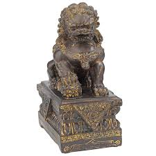 foo dogs for sale design toscano guardian lion foo dog figurine reviews