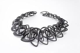 metal necklace designs images Architect and 3d jewelry designer jenny wu partners with exone to png