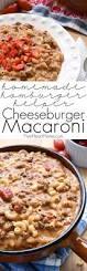 cheeseburger macaroni homemade hamburger helper