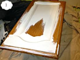 step paint the exterior cabinet doors last three thin coats is