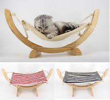 wooden cat hammocks ebay