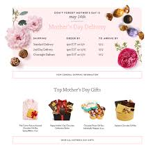 s day delivery gifts shipping calendar for s day gifts godiva