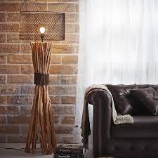twig floor lamp with industrial metal shade cowshed interiors twig floor lamp with industrial metal shade