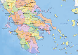 greece map political digital political map of greece 1438 the world of maps