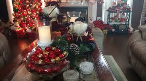 christmas decorations for sofa table christmas 2017 coffee tablescape sofa table part 11 in series 2017
