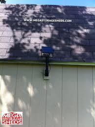 Solar Shed Light by Mega Storage Sheds Options Solar Power Storage Shed Light