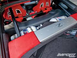 Nissan 350z Back Seat - 2004 nissan 350z import tuner magazine
