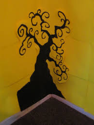 halloween spooky tree silhouette spooky tree images for displays a0 a5 ready to print for