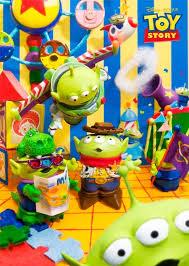disney pixar toy story alien park 3d lenticular greeting card