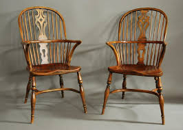 Windsor Armchairs Set Of Four Ash U0026 Elm Windsor Armchairs In Sold Items