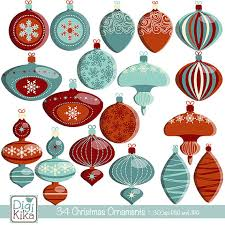 christmas ornaments clipart christmas clipart vector christmas