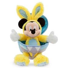 Mickey Mouse Easter Eggs Plush Easter Egg Mickey Mouse Bunny