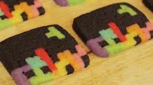 how to make tetris cookies nerdy nummies youtube