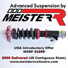 miata msrp new meisterr coilovers for na nb nc nd 995 delivered mx
