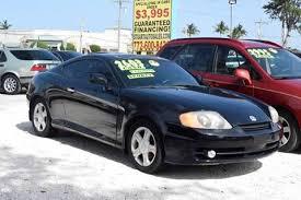 2003 hyundai tiburon v6 2003 hyundai tiburon for sale carsforsale com