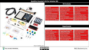 sik guide arduino amazon com sparkfun inventor u0027s kit for arduino 101 computers