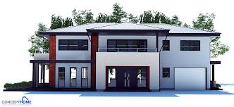 modern houses plans large modern house plan with four bedrooms