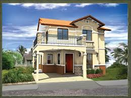 Floor Plan For Two Storey House In The Philippines 35 House Photos With Stone Clad Design