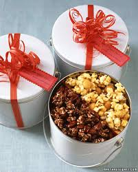 Food Gifts For Christmas Popcorn Tins Martha Stewart
