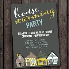 housewarming invite fast ship new home house warming invitation open house any