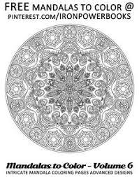 free mandala mandalas color intricate mandala