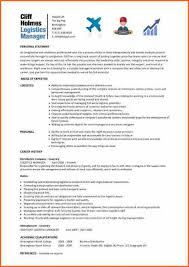 Warehouse Logistics Resume Sample by 12 Warehouse And Logistics Cv Budget Template Letter