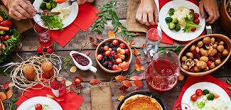 table full of food autumn eating ayurvedic tips for fall the chopra center