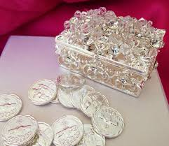 arras de oro wedding arras silver tone free shipping 13 unity coins arras