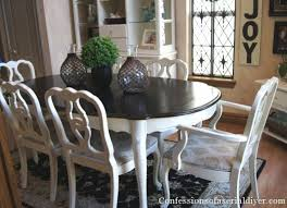 imposing art chalk paint dining room table dining room table