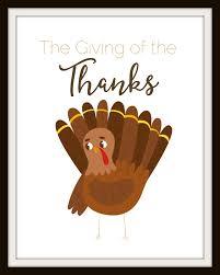 thanksgiving printable giving of the thanks momdot