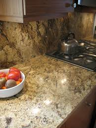 Backsplash Fox Granite - Countertop with backsplash