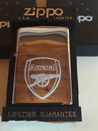 arsenal zippo lighter zippo lighter arsenal for sale in arklow wicklow from scallachi