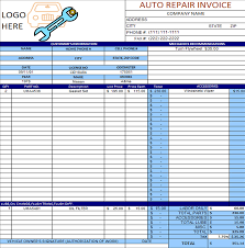 car report template exles auto repair invoice template