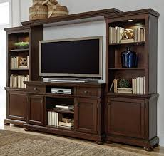 Wall Unit Millennium Porter Entertainment Wall Unit W Extra Large Tv Stand