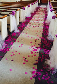 church decorations for wedding church decoration for wedding with pink petals http
